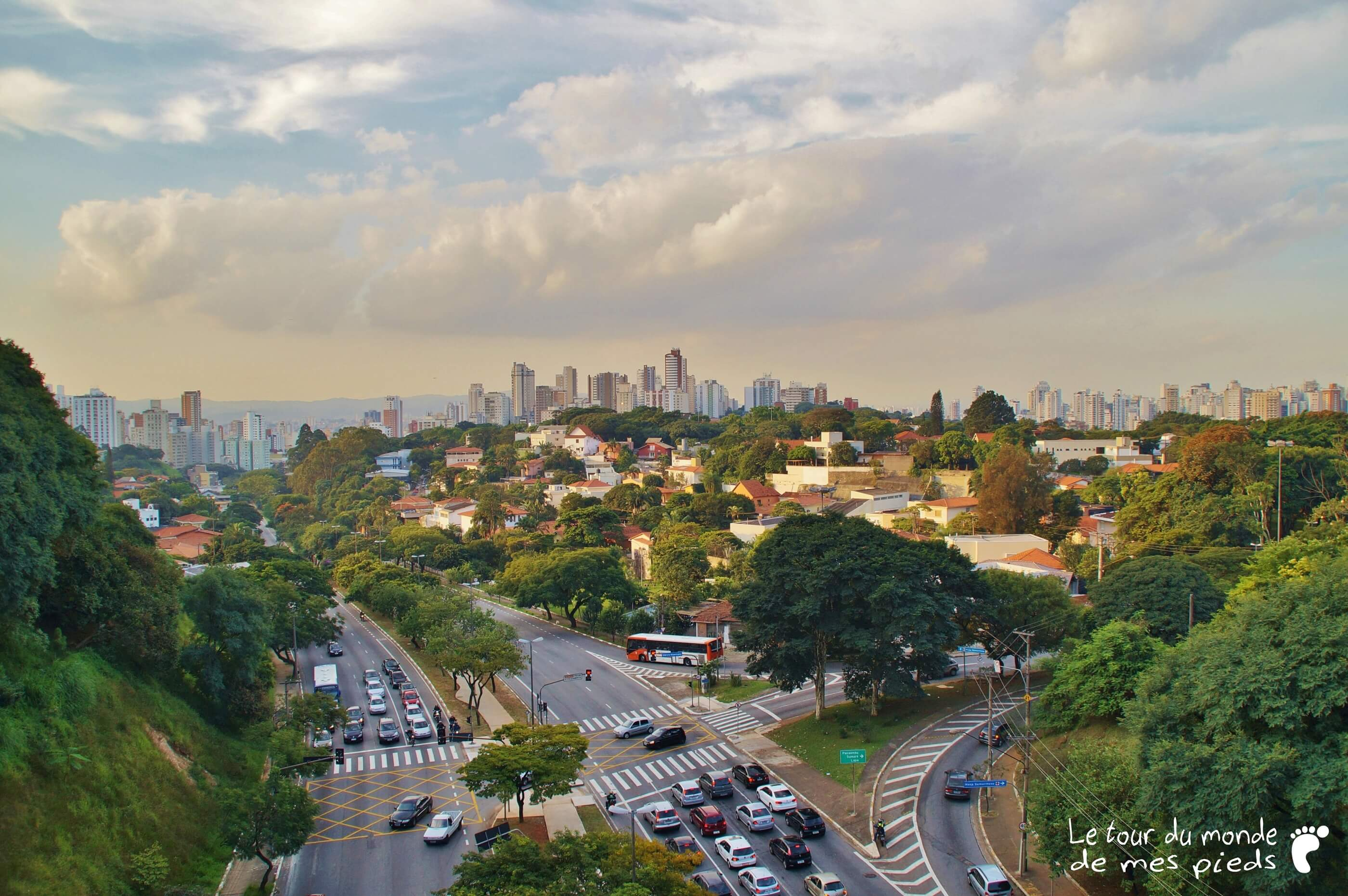 Vue sur Sao Paulo