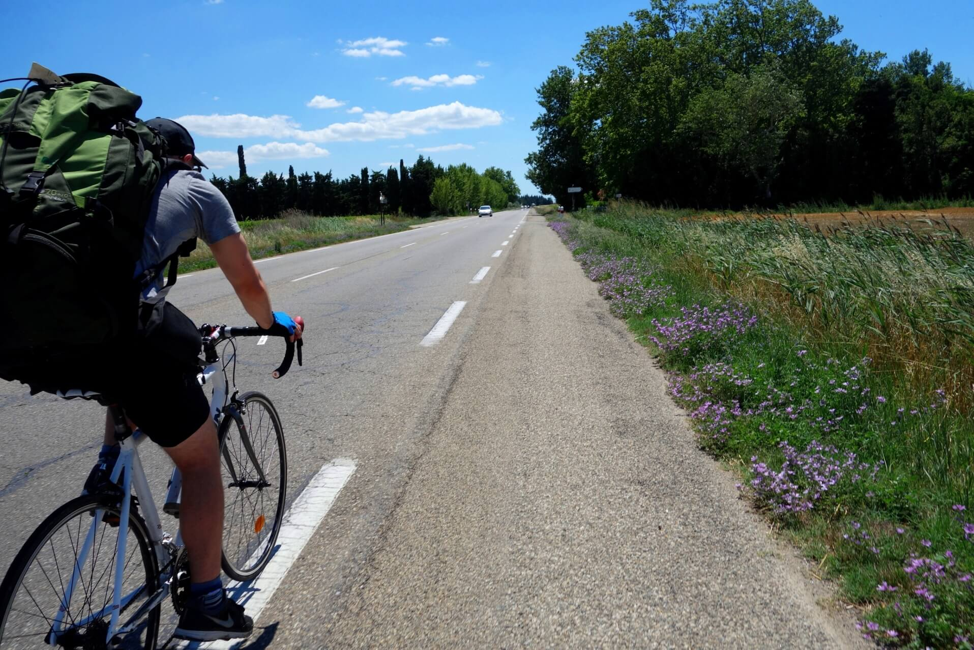 rejoindre la mer en vélo