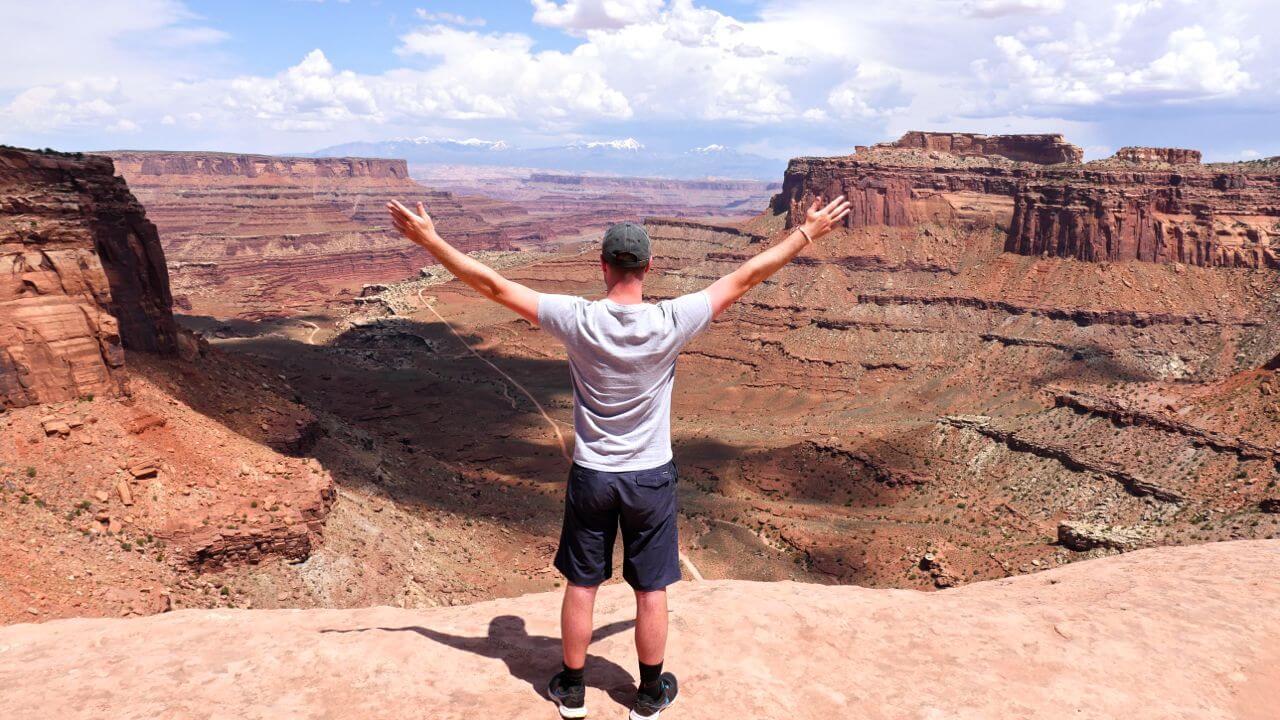 Shafer Canyon panorama